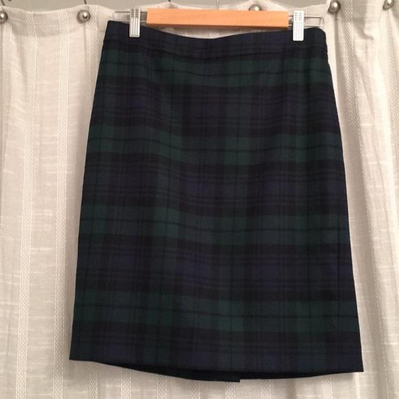 06eff4aac7e J. Crew Factory Dresses   Skirts - Jcrew Factory Blackwatch Plaid pencil  skirt
